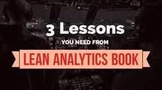 3 Lessons from Lean Analytics - Tracking Right Metrics - Northbound. Track, Books, Libros, Runway, Book, Truck, Running, Track And Field, Book Illustrations