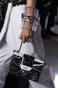 Balmain at Paris Fashion Week Spring 2019 : Balmain at Paris Spring 2019 (Details) Popular Handbags, Cute Handbags, Cheap Handbags, Purses And Handbags, Spring Handbags, Hobo Purses, Spring Bags, Gucci Purses, Hobo Bags
