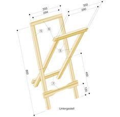 Build folding table self. Folding Furniture, Wooden Folding Chairs, Woodworking Furniture, Furniture Design, How To Make Mirror, Wood Table Design, Sofa Bed Design, Muebles Living, Wood Display