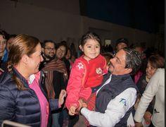 Alcalde de Ciudad Madero Junto a su esposa y cientos de niños celebran el Día de Reyes