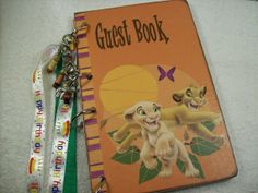 Birthday Guest Book Lion King Simba Jungle Theme by ljbminis2021