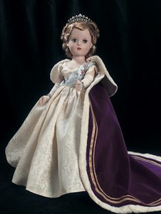 'Queen Elizabeth' from the Beaux Art Creation By Madame Alexander (1953)