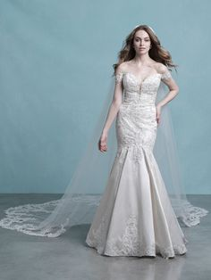 25593 - Jena - Sexy and breathtaking! Try this beauty on at Aurora Bridal in Melbourne, FL 321-254-3880