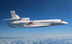 falcon 8x | The Falcon 8X has the largest cabin of any of Dassault's Falcon family ...