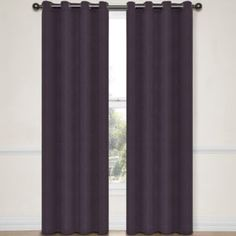 Eclipse® Abby Grommet-Top Blackout Curtain Panel with Thermalayer  found at @JCPenney in Midnight