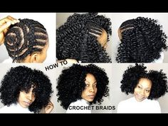 How to Slay ➟ CROCHET BRAIDS natural look (without knots) [Video] - https://blackhairinformation.com/video-gallery/slay-%e2%9e%9f-crochet-braids-natural-look-without-knots-video/