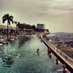 Singapour - Piscine du Marina Bay sands
