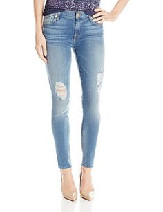 $85.92 7 For All Mankind Women's Gwenevere Skinny Jean, Oivia Authentic Light 2, 27 7 For All Mankind