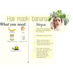 Hair mask: Banana