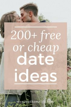 With these not only fun but also cheap or free date ideas, you have no excuse to put off date night another minute!