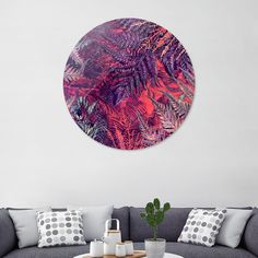 Discover «flowers 20», Exclusive Edition Disk Print by Justyna Jaszke - From $59 - Curioos