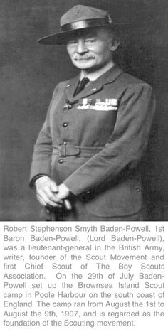 170 Best Lord Baden Powell Images Scouting Girl Guides Boy Scouts