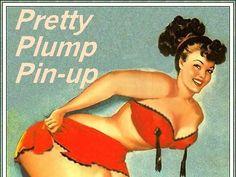 plump pinup