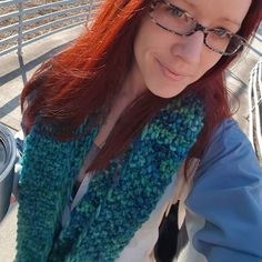 Cool mornings call for warm handmade scarves! Thanks to @thevictoriawest for my renewed red locks!!! - - - - - - - #knittersofinstagram #knittersoftheworld #handmade #etsyseller #etsyshop #etsy #crochet #crochetersofinstagram #crochetersoftheworld #chunkyknit #instafashion #fashion #style #Friday #happyfriday #followfriday #handmadeisbetter #shopsmall #smallbusiness #smallshops #malabrigo #avedacolor #loveyourcolor by pinksheepdesign
