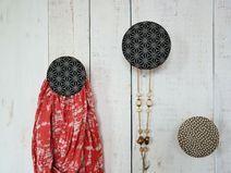 Garderobenhaken / Schmuckhalter ASANO (dunkelblau)