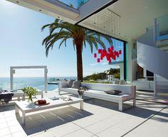 Stunning Costa Brava Property Overlooking The Mediterranean Sea. Located in Tossa De Mar, Costa Brava, Spain Coastal Homes, Coastal Living, Coastal Decor, Hamptons Decor, Outdoor Spaces, Outdoor Living, Outdoor Decor, Indoor Outdoor, Exterior Design