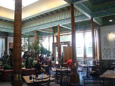 Dushanbe Teahouse, Boulder, Colorado    This teahouse is a gift from Boulder's sister city, Dushanbe, Tajikistan. Tajik artisans handcrafted the building in a traditional style.