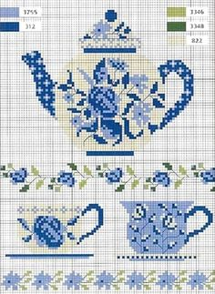 blue teapot | REPINNED