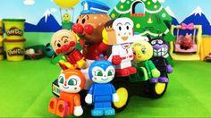 アンパンマン おもちゃ アンパンマンパトカーとブロックセット ❤️ アニメ ブロックラボ おもちゃ キッズ トイ kids toy