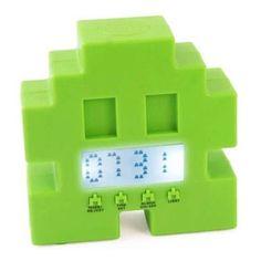 Budzik Space Invaders / Retro arcade alarm clock.