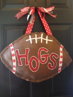 Great door decoration for school of choice game day.