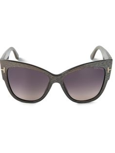 88de54928ac76 Shop Tom Ford  Anoushka  cat eye sunglasses in Idrisi from the world s best  independent