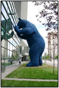 """I See What You Mean"" by Lawrence Argent -Colorado Convention Center, Denver, CO"