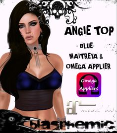 Second Life Freebies and more: Angie Top