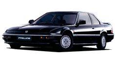 1989 Honda Prelude XX Prestige Black