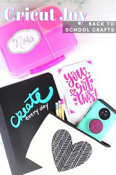 Get started with Cricut Joy and learn how to easily personalize anything. #cricutjoy #cricutcreated