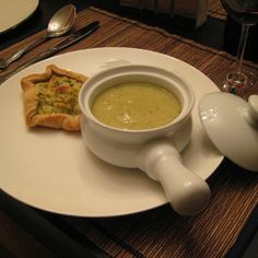 Supă cremă de zucchini cu busuioc (de la 1 an)