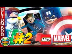 "LEGO Marvel Super Heroes Parte #2 ""Times Square"" Walkthrough"