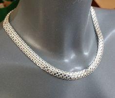 Italy Halskette Milor Designer-Kette Silber 925 von Schmuckbaron