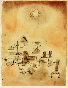 Nordafrikanisch by Paul Klee 1920 30.5 X 23.3 cm