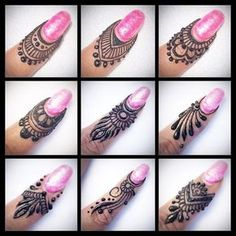 Beautiful Mehndi Design - Browse thousand of beautiful mehndi desings for your hands and feet. Here you will be find best mehndi design for every place and occastion. Quickly save your favorite Mehendi design images and pictures on the HappyShappy app. Finger Henna Designs, Mehndi Designs Book, Modern Mehndi Designs, Mehndi Design Pictures, Bridal Henna Designs, Mehndi Designs For Girls, Mehndi Designs For Beginners, Mehndi Designs For Fingers, Beautiful Henna Designs
