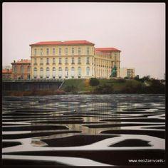 Marseille le Pharo vue de la terrasse du MUCEM. -- @NeoZarrivants -- http://www.neozarrivants.com/marseille/