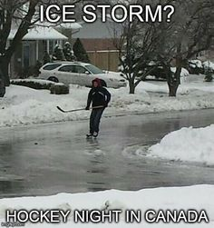 Hockey night in Canada. Canadian Memes, Canadian Things, Canadian Humour, Canadian Army, Funny Hockey Memes, Hockey Quotes, Funny Jokes, Funny Texts, Hilarious