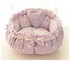 Puppy Beds, Pet Beds, Cool Dog Beds, Cool Pets, Fancy Bed, Round Dog Bed, Cat Light, Puppy Supplies, Dog Jacket