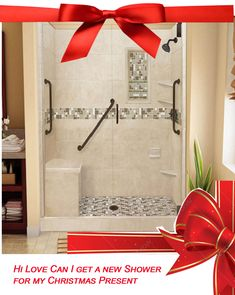 ABF wishing you Happy Holidays! Surprise your love with a shower remodel that will last them a lifetime! Use the coupon code: HOLIDAY to Save 25% on any of our showers. May all your dreams come true this holiday season.