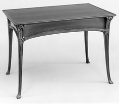 Table of Palissander wood - circa 1899 By Edouard Colonna (French, 1862-1948) in the style of Art Nouveau.