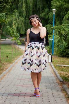 Midi skirts and picnics