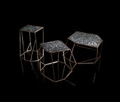 W Tables by Massimo Castagna for Henge.