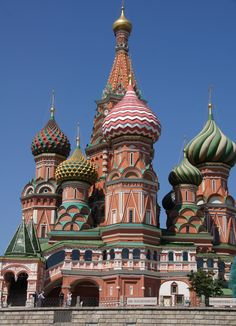 Moscow, Russia    St. Basil Cathedral (photo by Peggy Mooney)