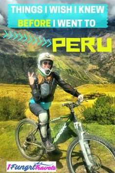 Things I wish I knew BEFORE I went to Peru! Includes tips on preventing…