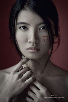 Zin Imaginary Kabuki Portrait © Tomek Jankowski Photography www.tomekjankowski.net