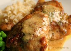 """Man Pleasing Chicken - women too. This has been one of the most popular recipes on Pinterest. Pinner said """"There were 400 comments after the person pit the recipe on Pinterest."""""""
