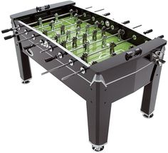 Mightymast Leisure Viper Football Table - looking sturdy and stable - leg levelers, drink holders