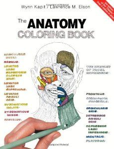 The Anatomy Coloring Book: Wynn Kapit, Lawrence M. - For all of us yoga and anatomy geeks