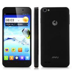 JIAYU G4 Basic Móvil MTK6589 Quad Core 1G RAM Pantalla Retina de 4.7 pulgadas IPS HD Android 4.2 13MP cámara giroscopio-Negro