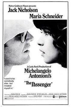 THE PASSENGER jack nicholson maria schneider MOVIE POSTER romance 24X36